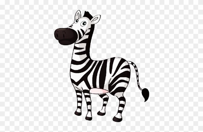 Cute Baby Zebra Zebra Cartoon - Zebra Clipart #5775