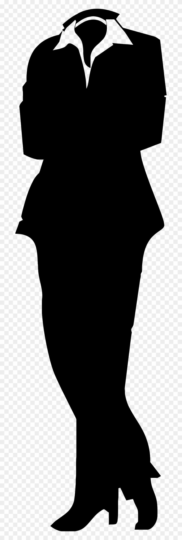 Woman - Clip Art Woman Suit #5824