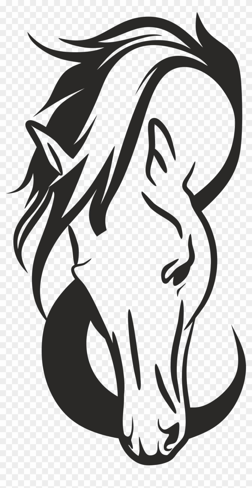 Clipart Horse Head Silhouette Free Vector Free Transparent Png