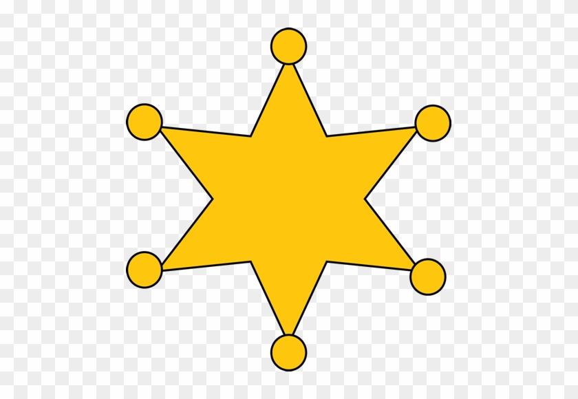 Sheriff Badge - Sheriff Badge Clip Art #5843