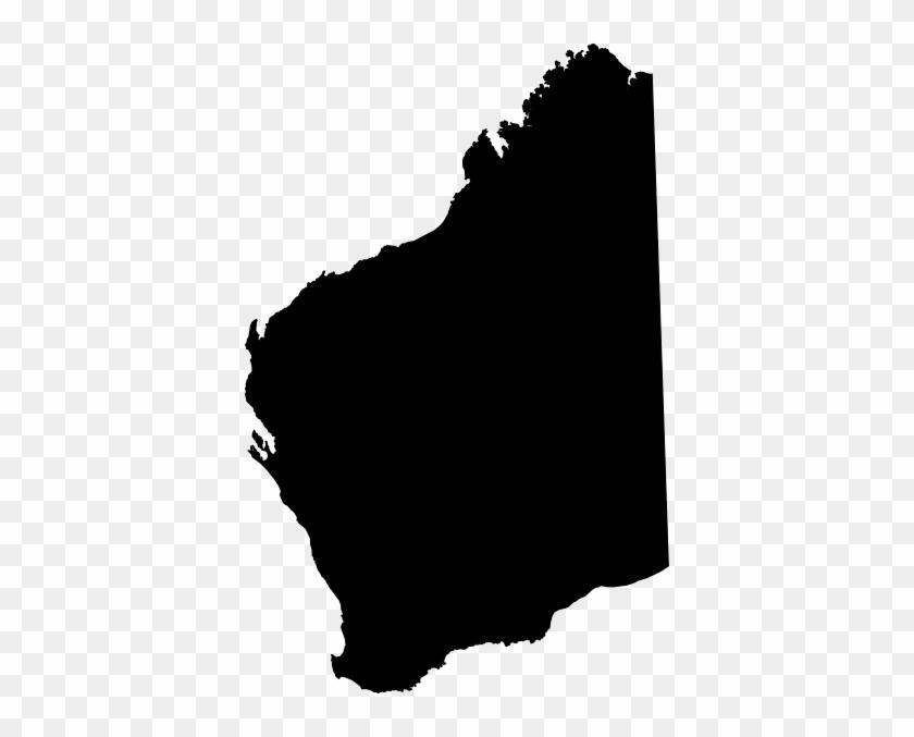 Western Australia Map Vector #5850