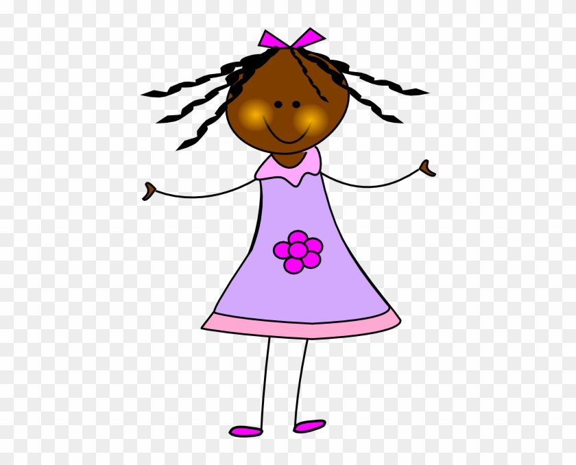 Black Girl Clipart 11 - African American Girl Clipart #5857