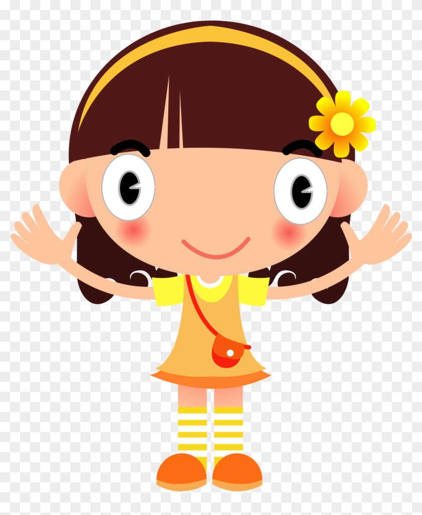 Big Image - Girl Clipart Png #5869
