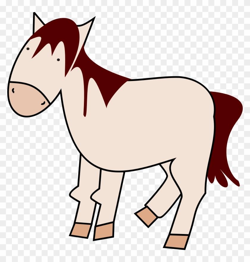 Free Horse Clip Art Clipartzo - Brown Horse Shower Curtain #5882