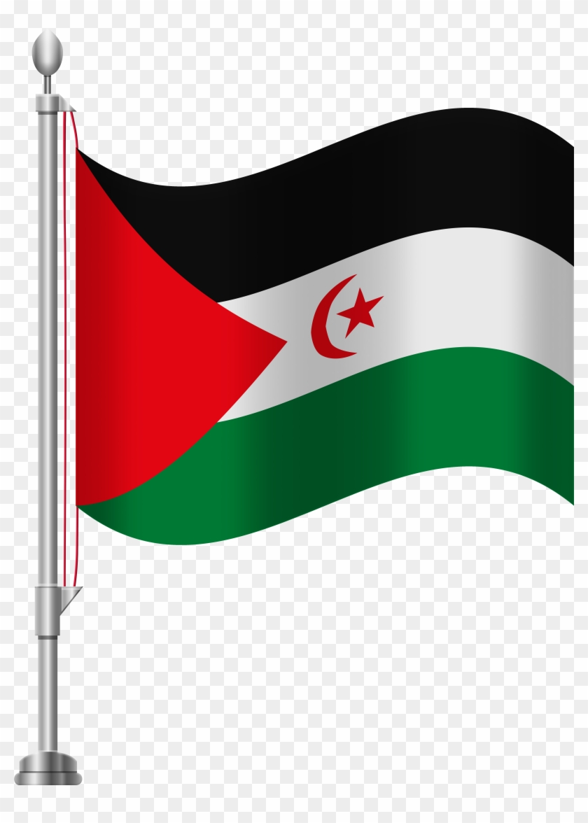 Western Sahara Flag Png Clip Art - Western Sahara Flag Png Clip Art #5918