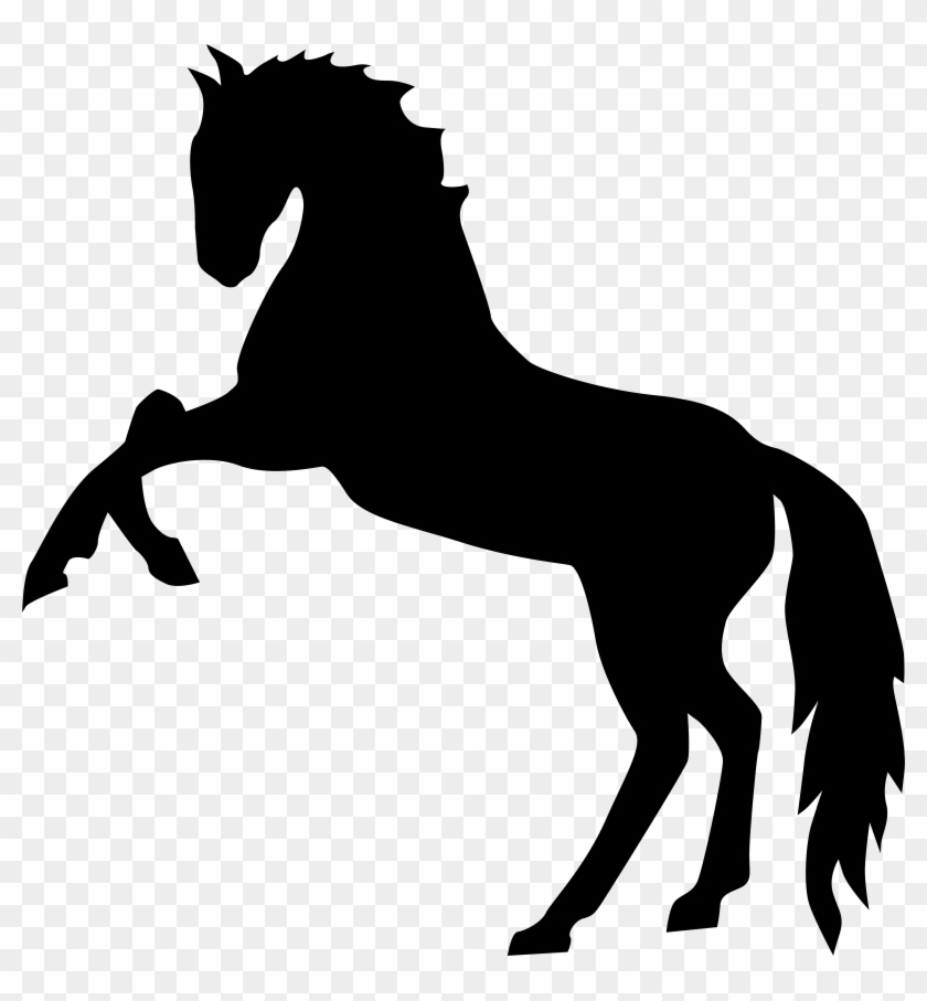Horse Clipart Transparent - Horse Clipart Transparent #5936