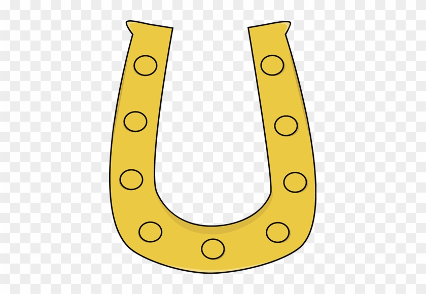 Horseshoe Horse Shoe Clip Art - St Patrick's Day Clip Art Horse Shoe #5943