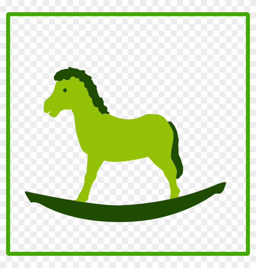Green Horse Clipart - Icon #5958