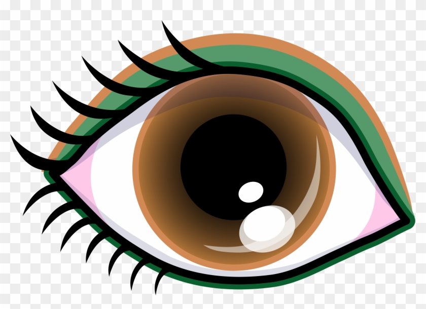 Eye Clip Art Black And White - Smize Smile With Your Eyes Top Model Tyra Banks Ne #5968