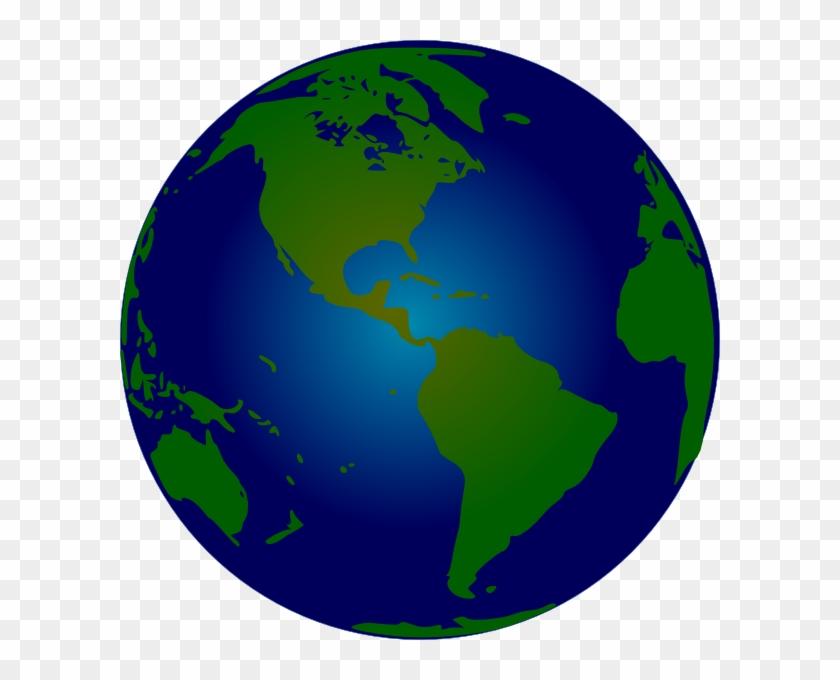Globe Image Clip Art Vector Clip Art - World Clipart #5969