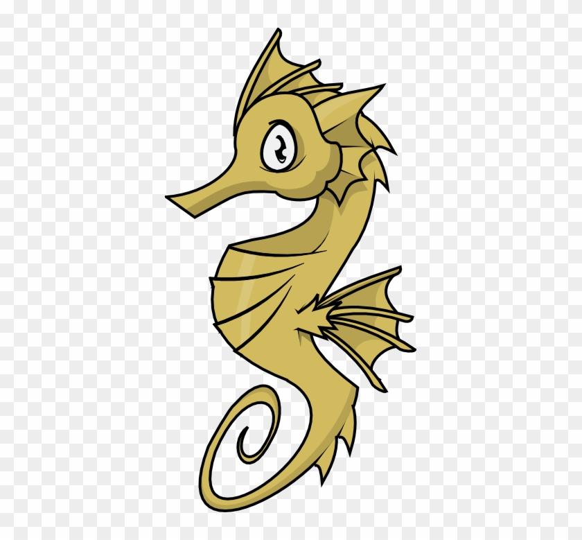 Shark Clipart Foca - Seahorse Clipart #6017