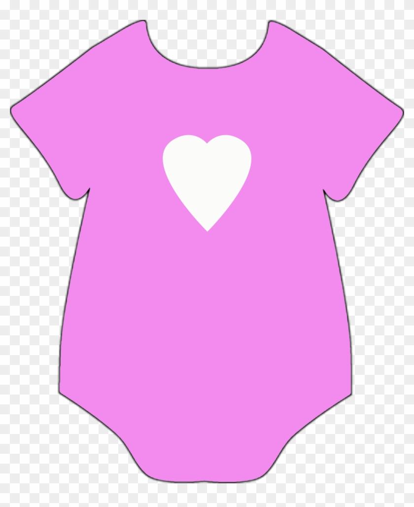 Baby Onesie Clipart - Clip Art #6032