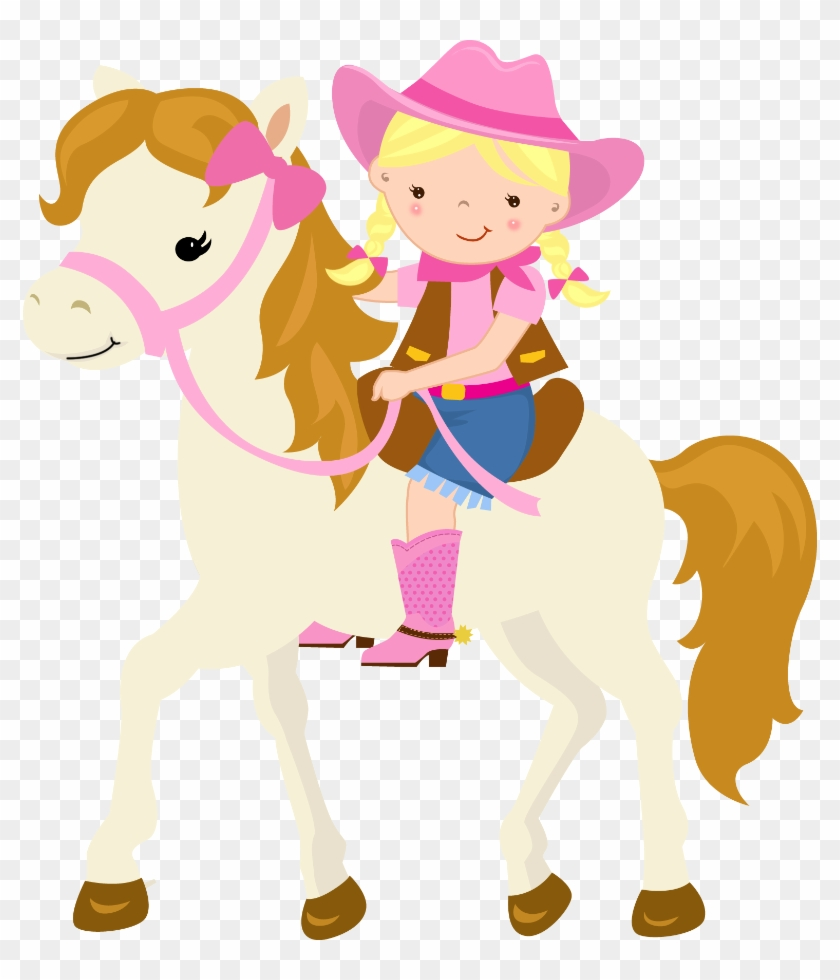 Pin By Crafty Annabelle On Cowgirl Printables Pinterest - Cowgirl And Horse Cartoon #6027