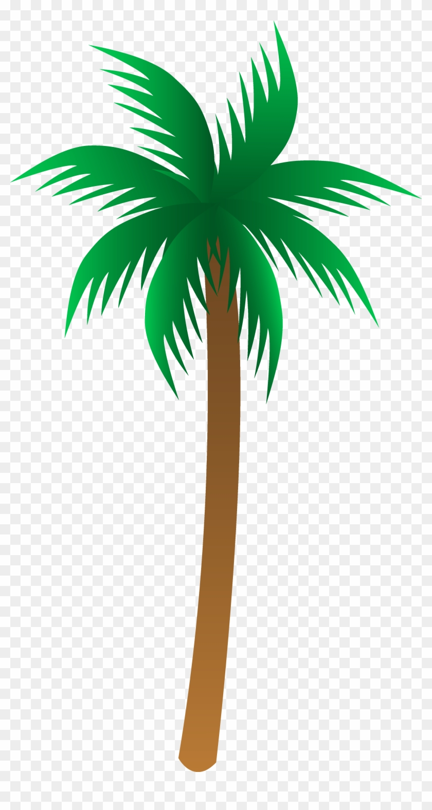 Palm Tree Clipart - Palm Tree Clipart #606