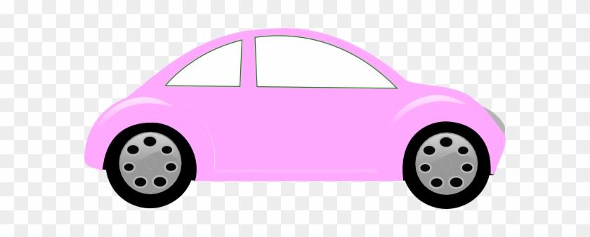 Baby Cars Clipart Pink Car Clip Art At Clker Com Vector - Car Baby Clip Art #6086