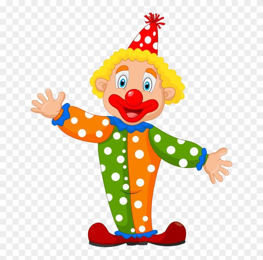 Clown Png - Circus Cartoon #6087