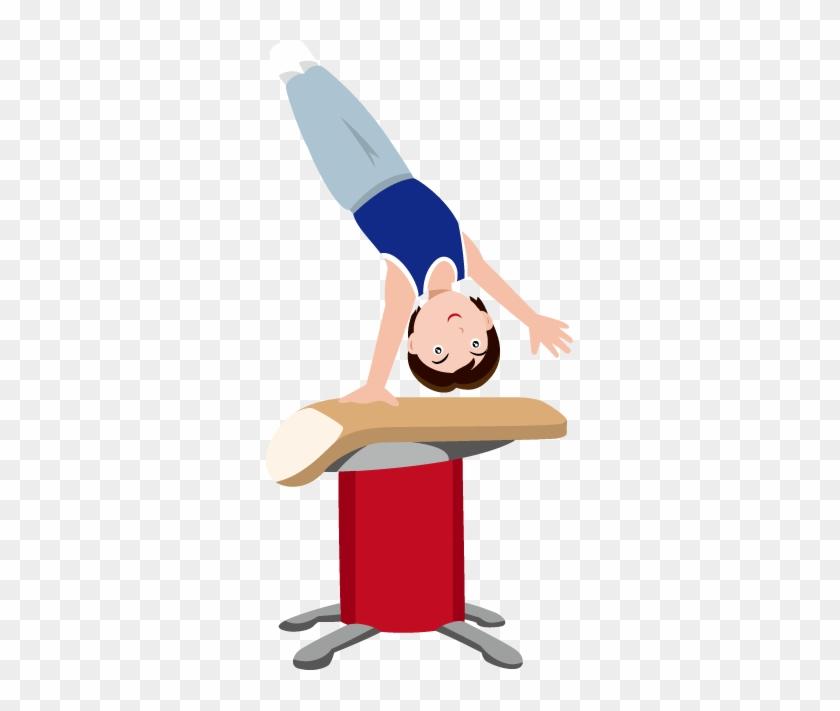 Gymnastics Clipart Vault Free Images - Gymnastics Vault Clip Art #6105