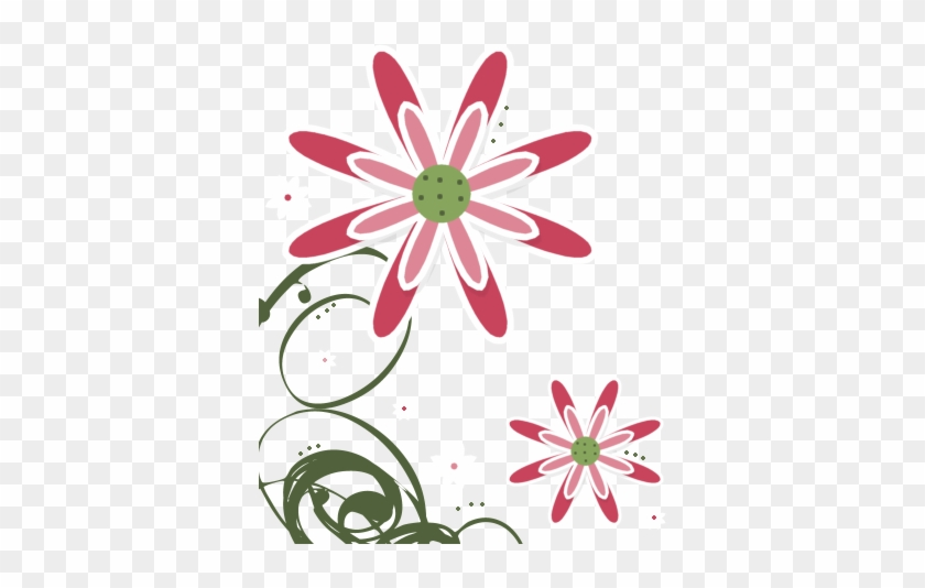 Graphics For Corner Flower Transparent Background Graphics - Png Cute Flowers Background #6115