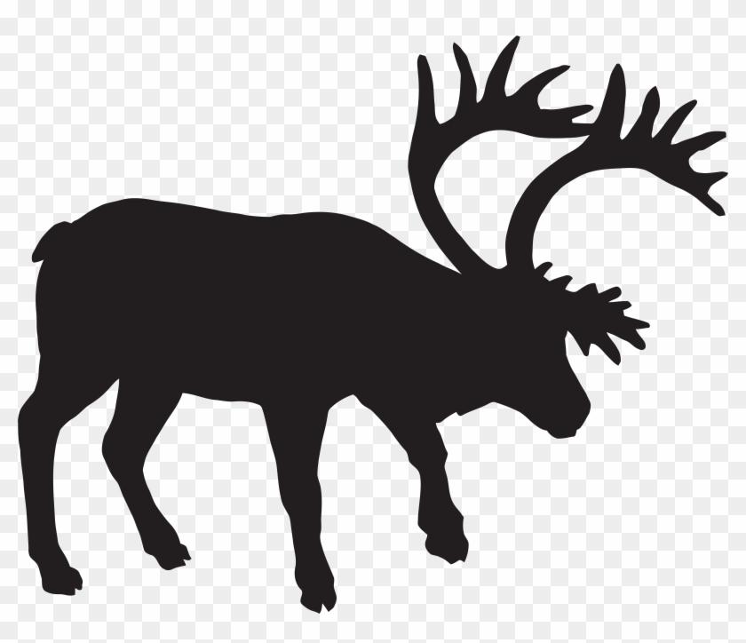 Fallow Deer Silhouette Png Clip Art Imageu200b Gallery - Fallow Deer Silhouette Png Clip Art Imageu200b Gallery #6151