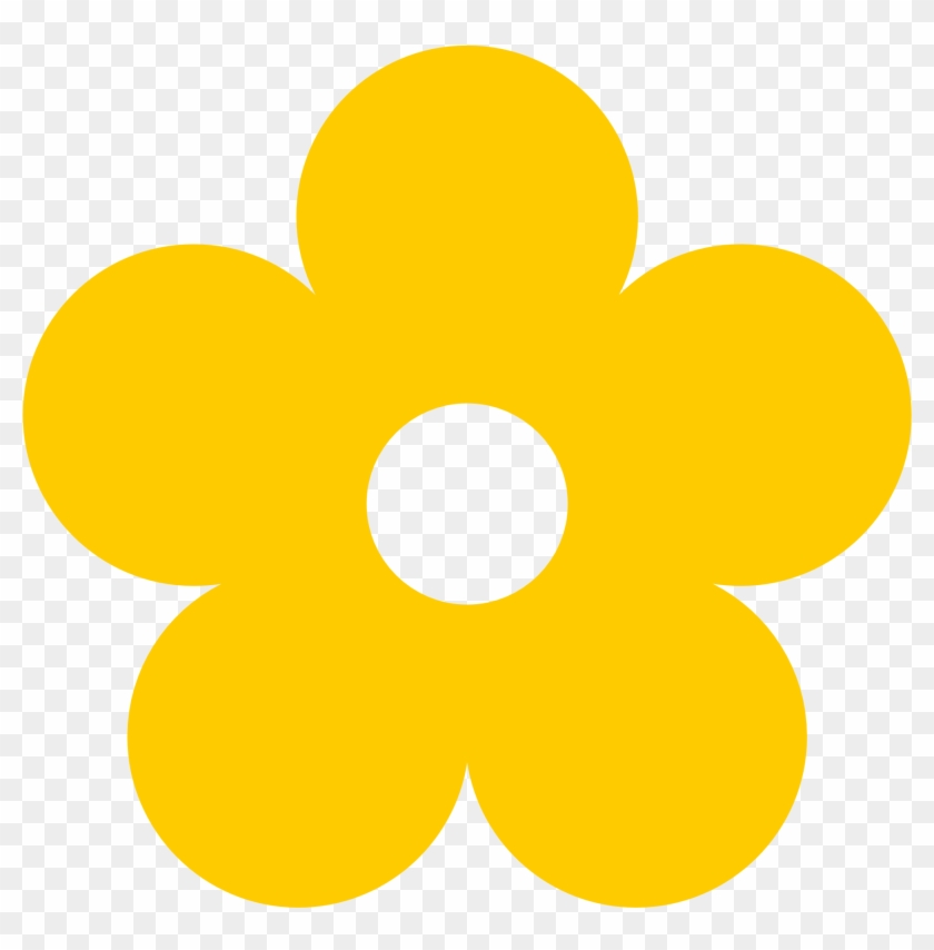 color yellow clipart yellow flower clipart free