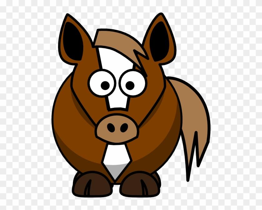 Cartoon Horse Clip Art - Cartoon Horse Clip Art #6173