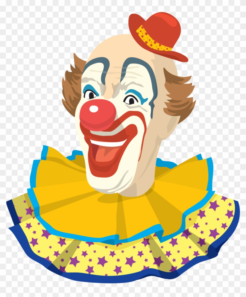 Clown Png - Vintage Clown #6188