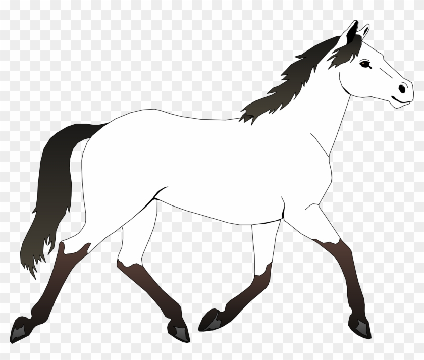Clip Art Info - Mustang Horse Coloring Pages #6187
