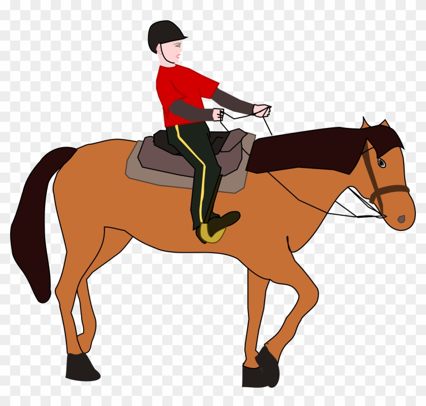 Western Horse Riding Clipart 20 - Horse Riding Clipart #6196
