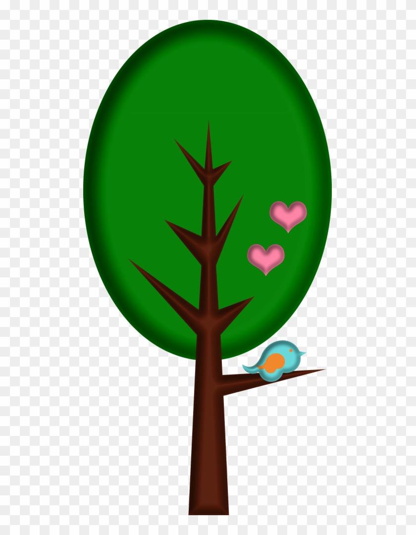 Lacarolita Spring Joy Tree2 - Arvore Desenho Vetor Chapeuzinho Vermelho #639