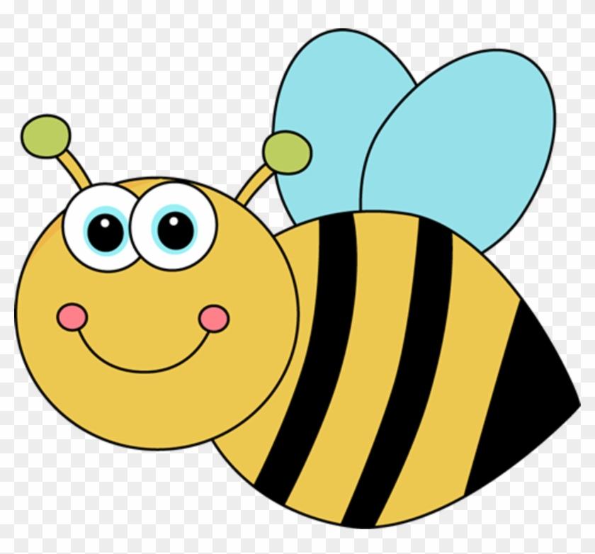 Cute Cartoon Bee - Bee Clip Art #6221