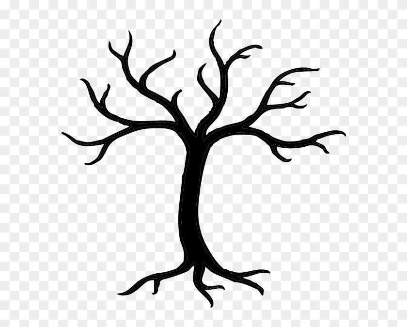 Bare Tree Clipart #6