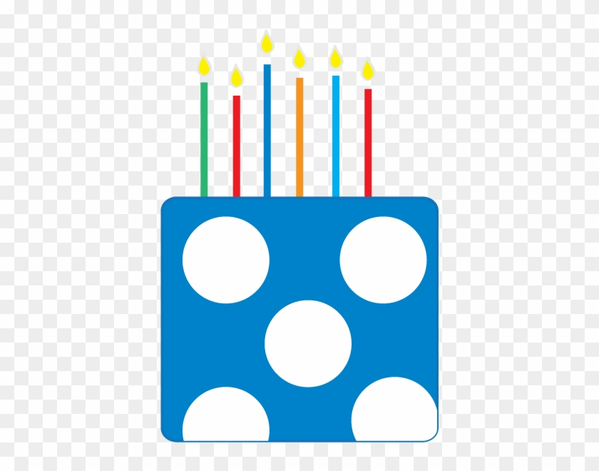 Birthday Cake Clipart - Birthday Cake Blue Clip Art #6228