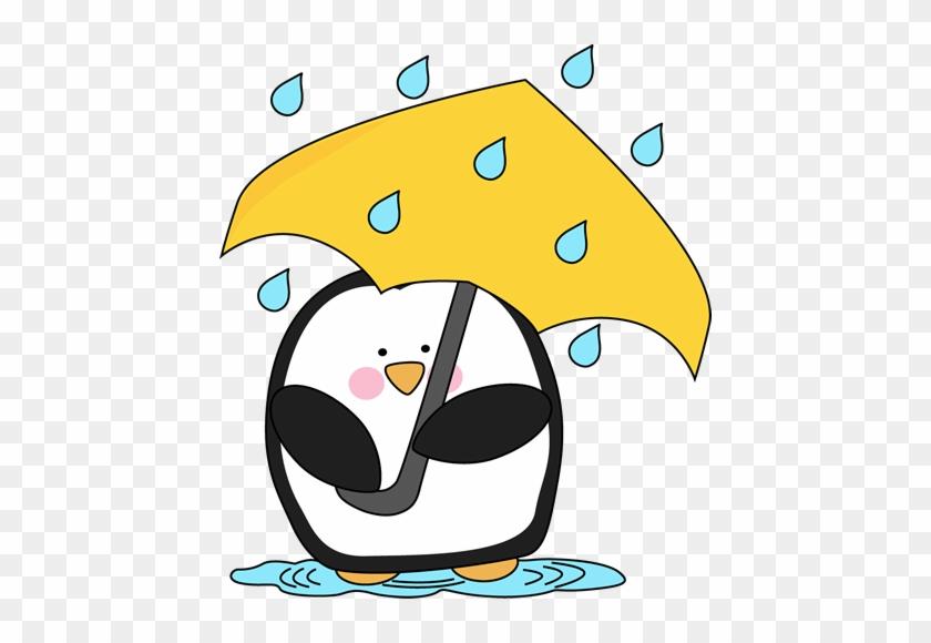Penguin In The Rain - Happy Valentines Day Jokes #6234