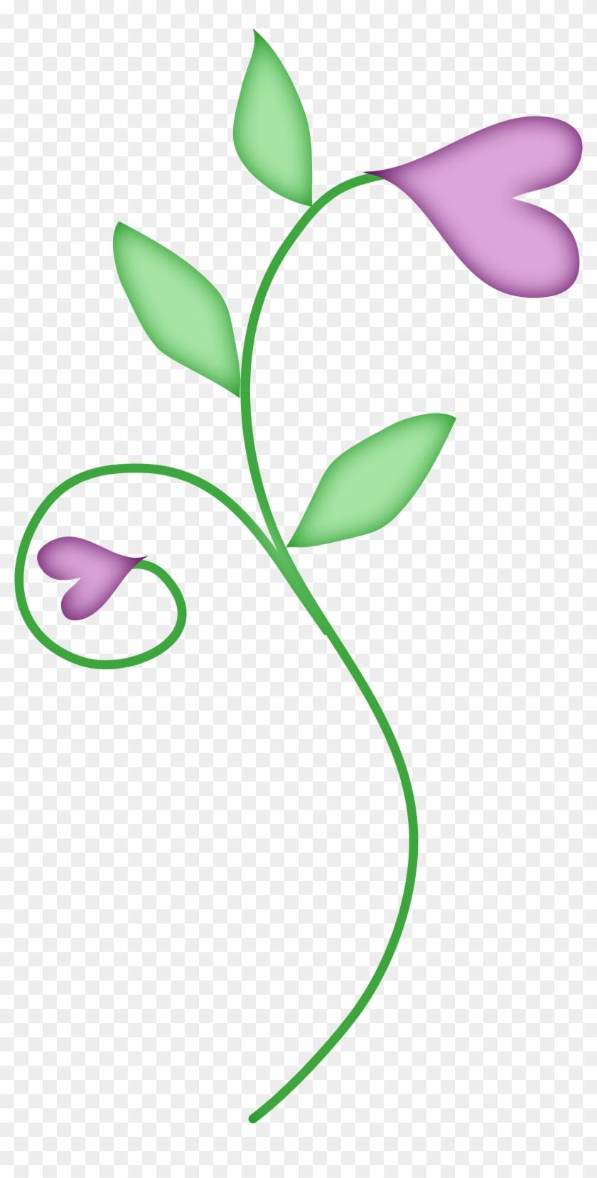 Spring Flower Clip Art - Clip Art #6261