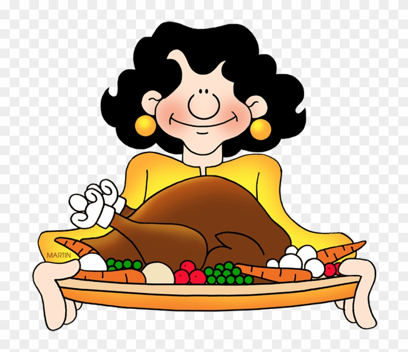 Thanksgiving Feast Clip Art #6264