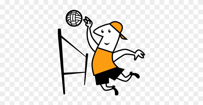 Volleyball Clip Art - Volleyball #6268
