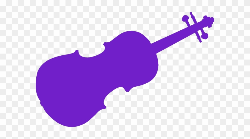 Violet Clipart Violin - Violin Clip Art #6269