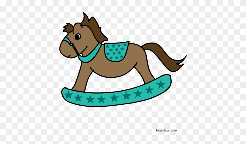Free Rocking Horse Western Clip Art Baby Shower Free Transparent