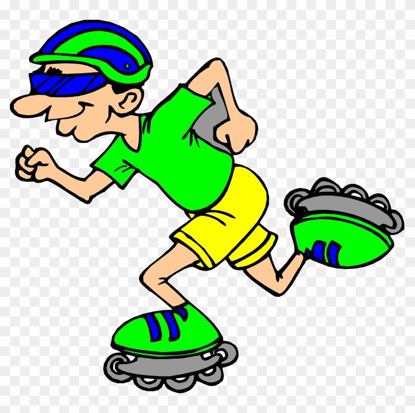 Sports Clip Art - Roller Skate Clipart #6298