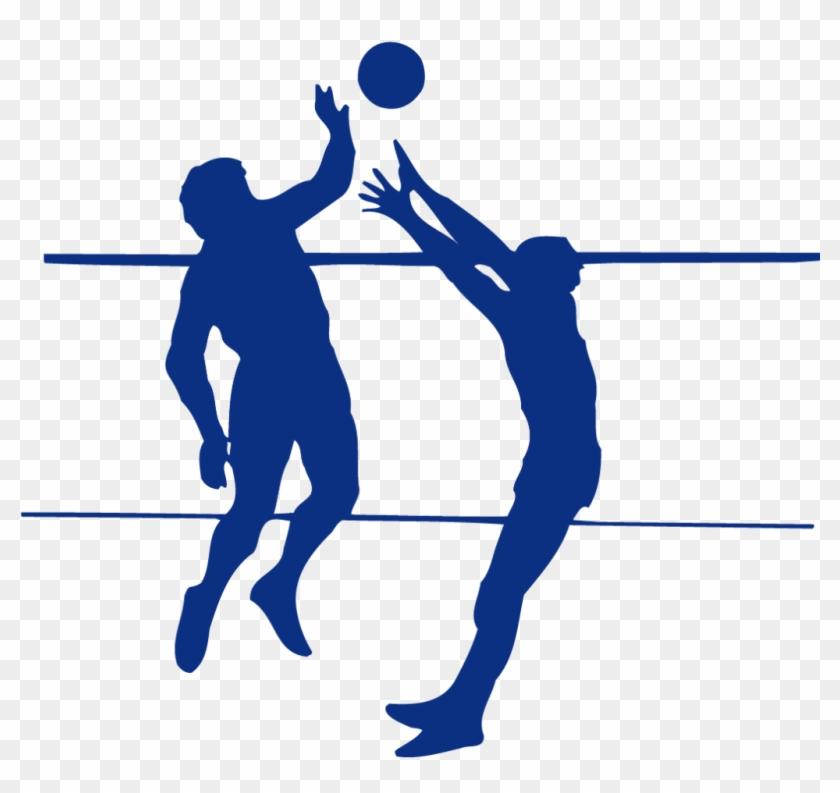 Girl Volleyball Player Silhouette Clip Art - Волейбол Пнг #6307