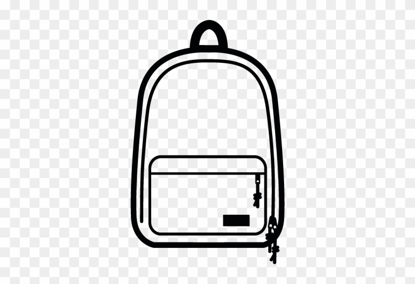 Out Of Office - Backpack Clipart #6314