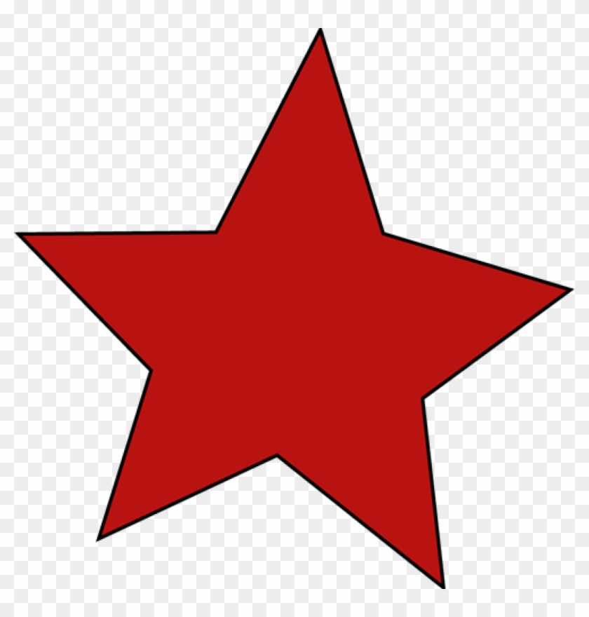 Red Star - Stars Clipart #6332