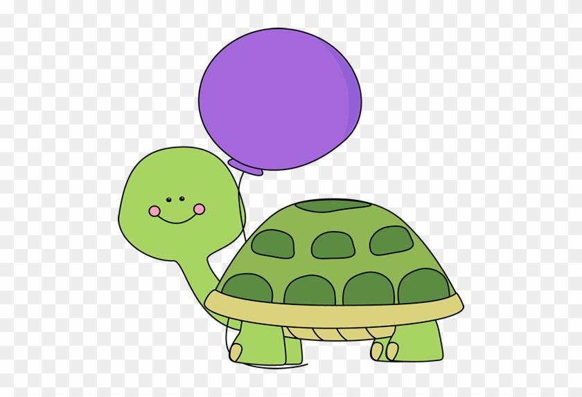 Birthday Turtle Clip Art - Turtle Clip Art #6343