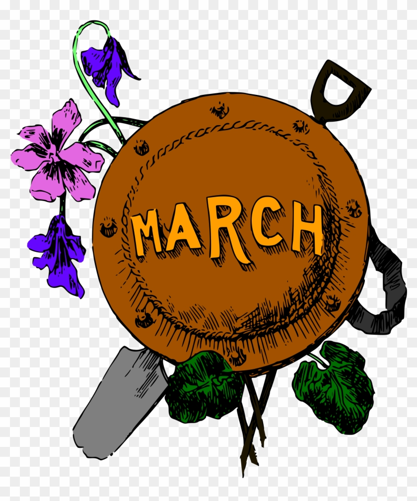 Clipart - Month Of March #6348