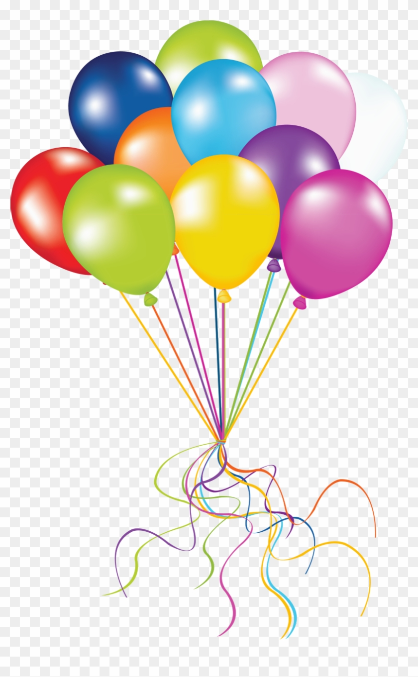 Grape Of Balloons - Balloon Png #6376