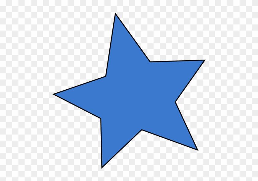 Blue Star - Blue Star Clipart #6377