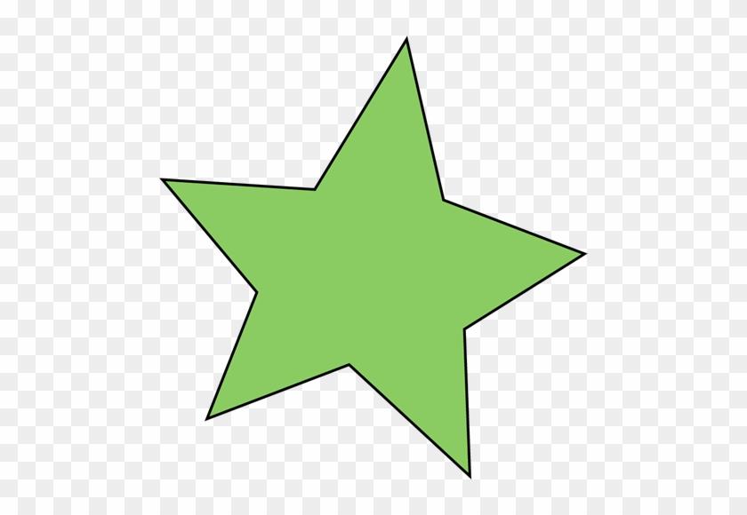 Green Star - Green Star Clipart #6392