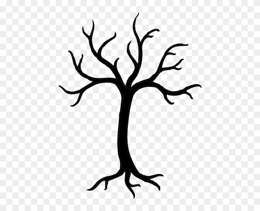Tree Silhouette Clip Art #65