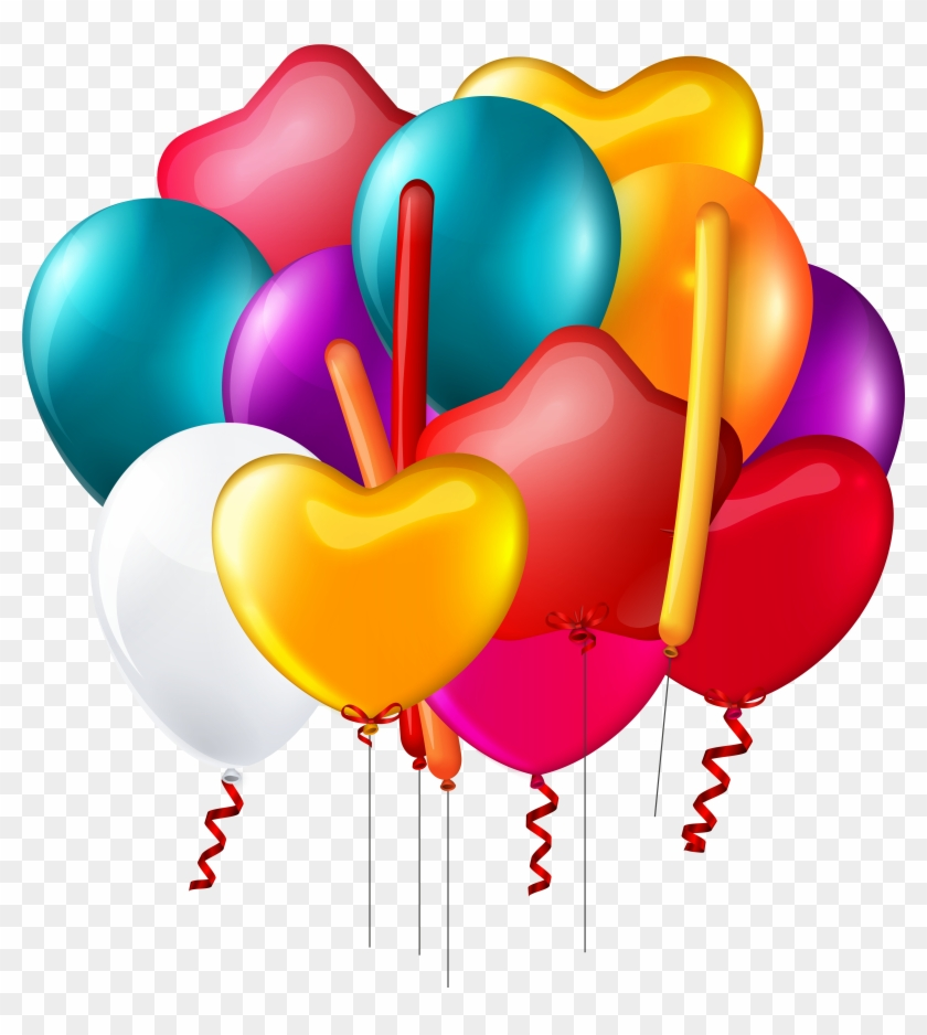 Explore Birthday Clipart, Balloons And More - Balloons Clipart Transparent Background #6426