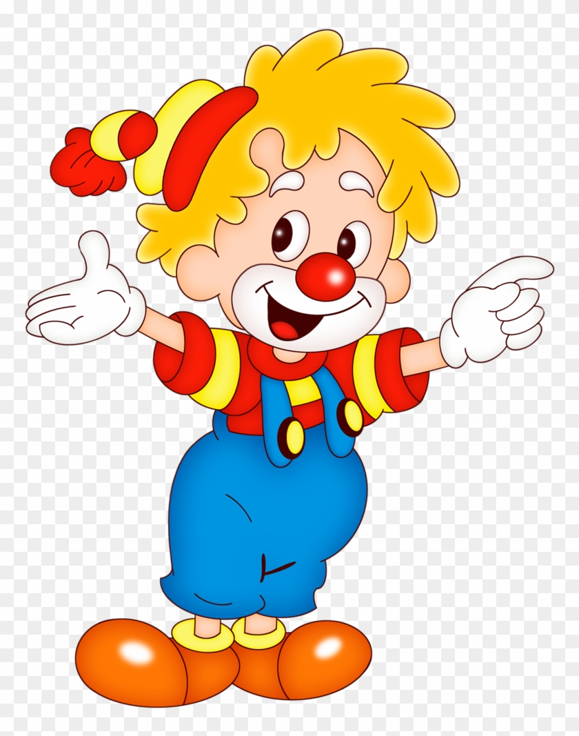 Clown Png - Clipart De Palhaço #6432
